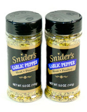 sniders garlic pepper