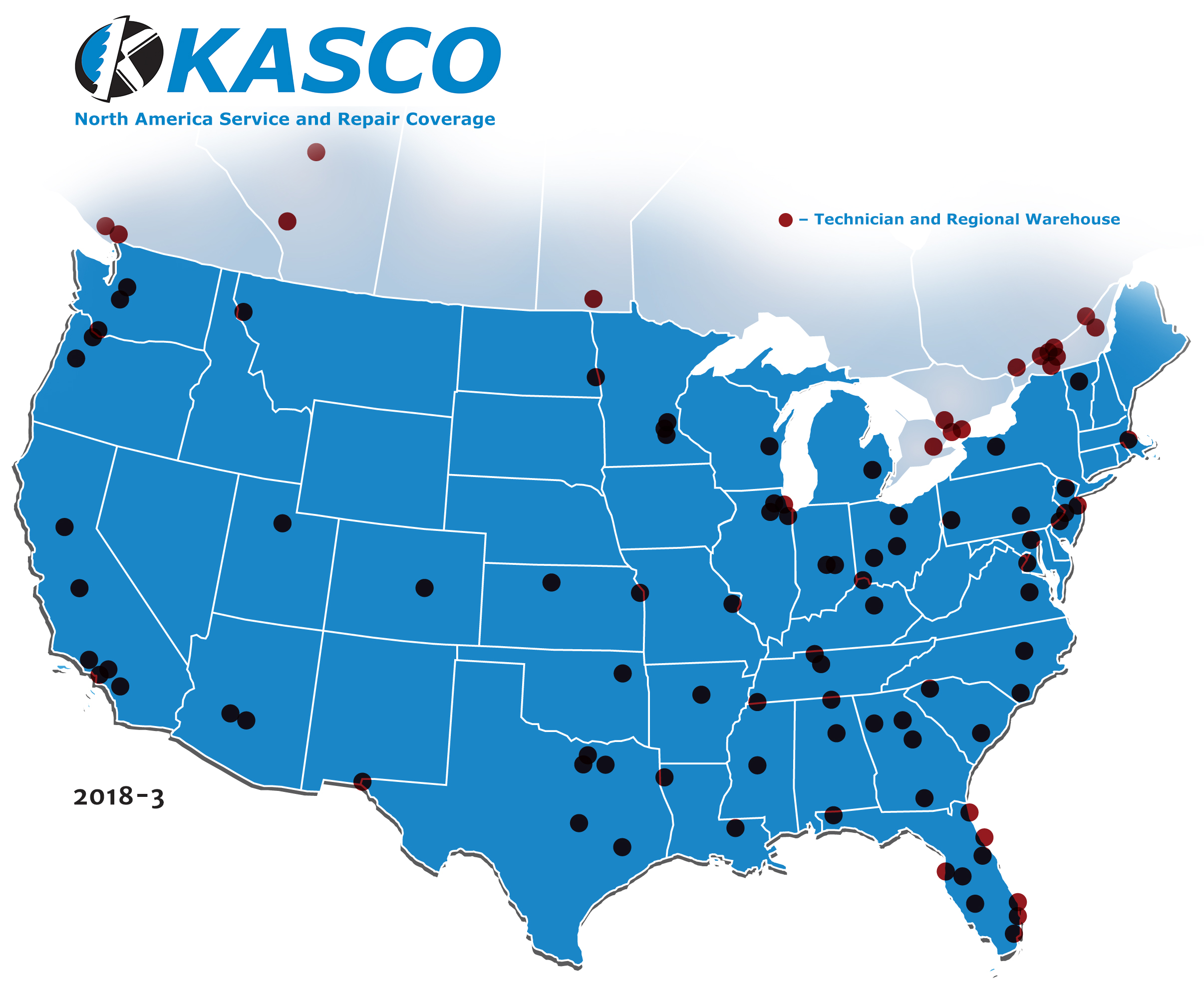 kasco service locations us canada