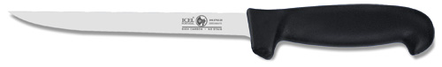 "8 ""Fish Fillet Knife ICEL con mango Poly Negro"